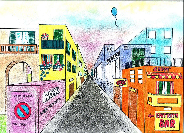 I vostri disegni pubblicati sul sito dei pulpi for Disegni di case in prospettiva