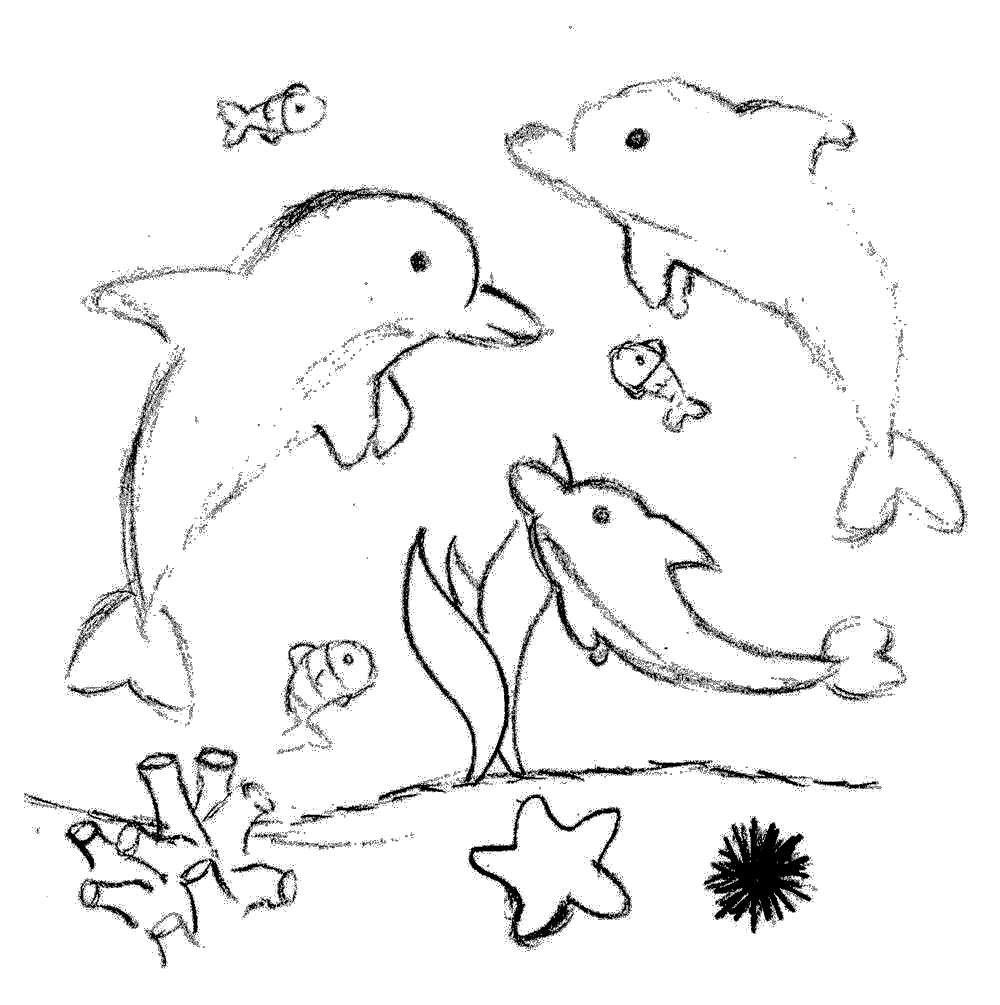 Pin delfini da colorare 11 ajilbabcom portal on pinterest for Delfino disegno da colorare
