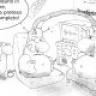Disegni Vignette divertenti: Ilva Novi LIgure, Minetti e...